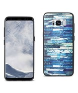 REIKO SAMSUNG GALAXY S8 EMBOSSED WOOD PATTERN DESIGN TPU CASE WITH MULTI... - $9.80
