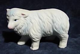 Porcelain Nativity Sheep--Homco-Taiwan - $9.00