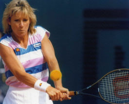 Chris Evert SA Vintage 11X14 Color Tennis Memorabilia Photo - $14.95