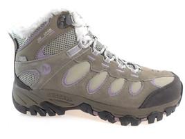 Merrell Ridgepass Thermo Mid Waterproof Women's Insulated Hiking Boots, J227166C - $95.99