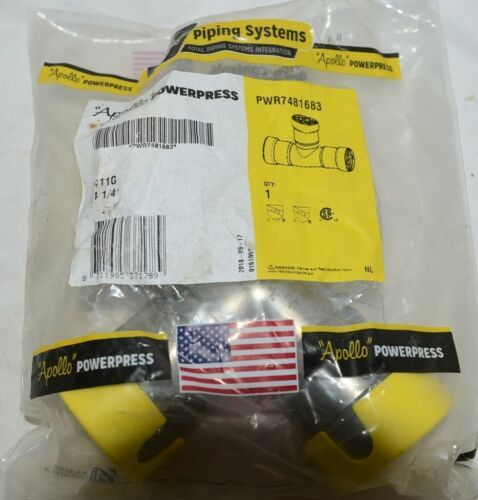 Apollo Powerpress Gas Carbon Steel Press Tee PWR7481683