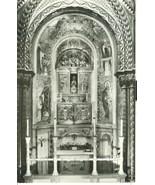 Spain, Montserrat, The Black Madonna on her throne, unused Postcard - $4.99
