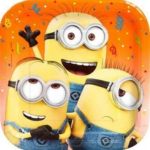 Despicable Me 3 Lunch Plates 8 Per Package Birthday Party Supplies New - $3.94