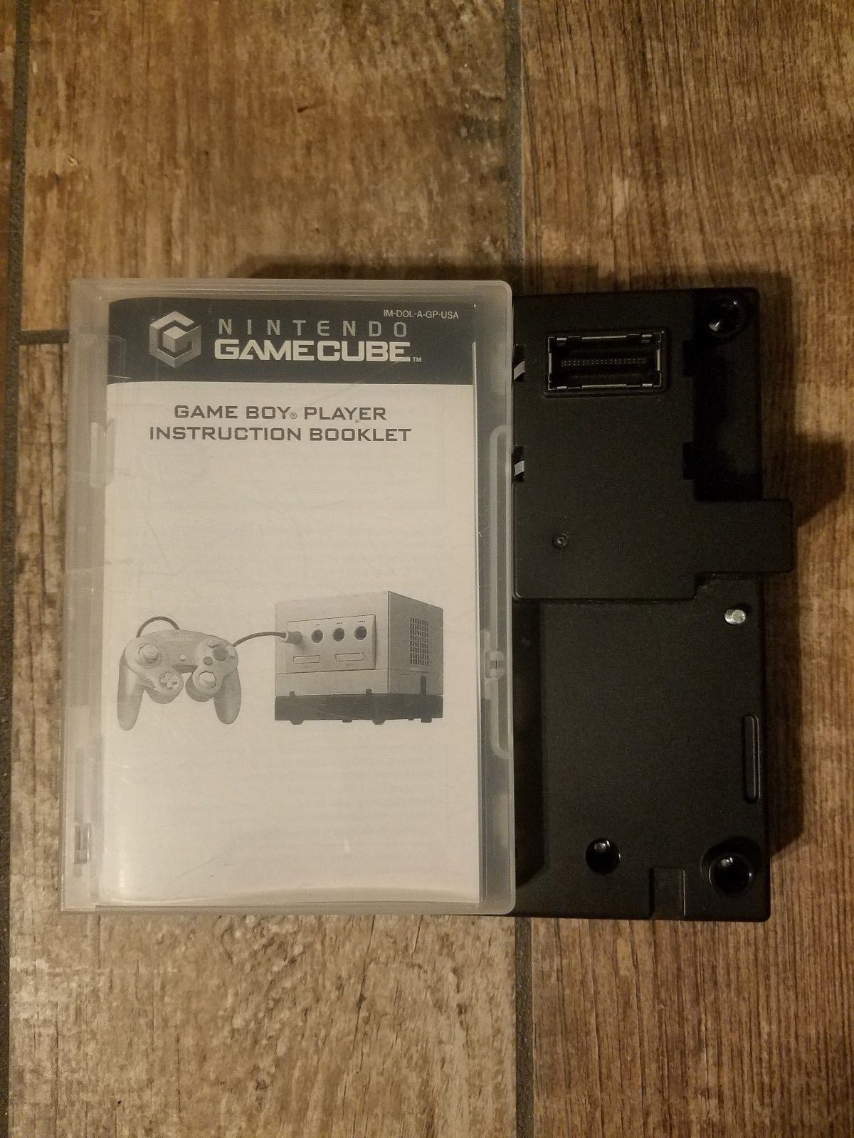 Gamecube Gameboy Player with Start-Up Disc Great Condition Fast Shipping