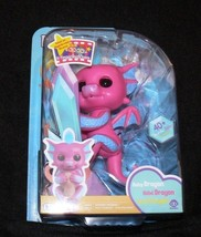 Fingerlings Baby Dragon SANDY  Pink & Blue WowWee New Hot Toy - $17.50