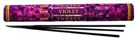 ABN Fashion Hem Violet Sticks Incense Natural Fragrance Hand Rolled Indi... - $11.26