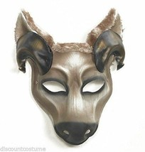 Deluxe HAND-DETAILED & Decorated Ram Mask Halloween Costume Masquerade Accessory - $24.92