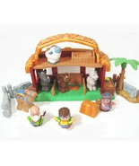 Fisher Price Little People Lil Drummer Boy Musical xmas Nativity Barn se... - $44.50