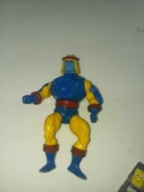 He Man Motu SY-CLONE Masters Of The Universe 1984 Stands & Working Heman - $9.99