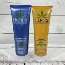 2 - Hempz Herbal Body Wash - Triple Moisture - Original - 8.5 oz each - ... - $9.87
