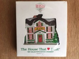 NEW DEPT 56 THE HOUSE THAT LOVE BUILT 1997 RONALD MCDONALD ORNAMENT SEALED - $7.50