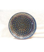 2013 Robesonia Redware Pottery Redware Spiral Dots Decorated Small 6 3/4... - $15.95