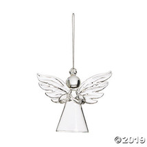 Clear Angel Ornaments - $34.00