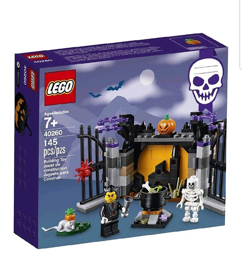 Lego Holiday Halloween Haunt Building Toy Set 40260 145 Piece [New]