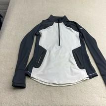 Under Armour Long Sleeve 1/4 Zip Jacket Women's Size Medium White - $28.59