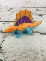 Imaginext Fisher Price Spinosaurus Orange Blue Dinosaur - $11.88
