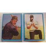 1982 Topps Baseball Album Stickers #85 Willie Stargell & #87 Dave Parker... - $1.00