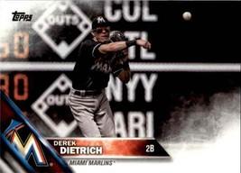 2016 Topps Update Derek Dietrich #US277 Miami Marlins - $0.94