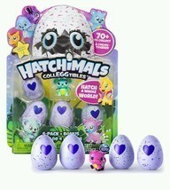 Hatchimals CollEGGtibles 4-Pack Christmas Gift Four Set Bonus Rub Egg He... - $18.65