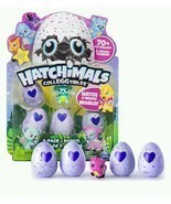 Hatchimals CollEGGtibles 4-Pack Christmas Gift Four Set Bonus Rub Egg He... - £14.39 GBP