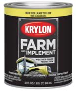 Krylon K02032000 Farm & Implement Paint, New Holland Yellow, 1 Quart - $24.74