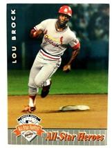 Lou Brock 1992 Upper Deck All-Star Fan Fest Card #48 MLB HOF St. Louis C... - $1.93