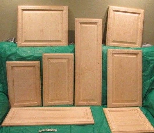 solid wood kitchen cabinet doors solid wood maple unfinished raised panel kitchen cabinet 8164