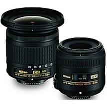 Nikon - Landscape/Macro Lens Kit - Designed for Camera - $516.06