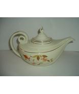 Hall Jewel Tea Autumn Leaf Aladdin Teapot Tea Pot with Infuser - $46.79