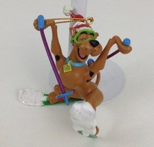 Christmas Ornament Hanna Barbara Scooby Doo skiing 1999 Dog - $19.55