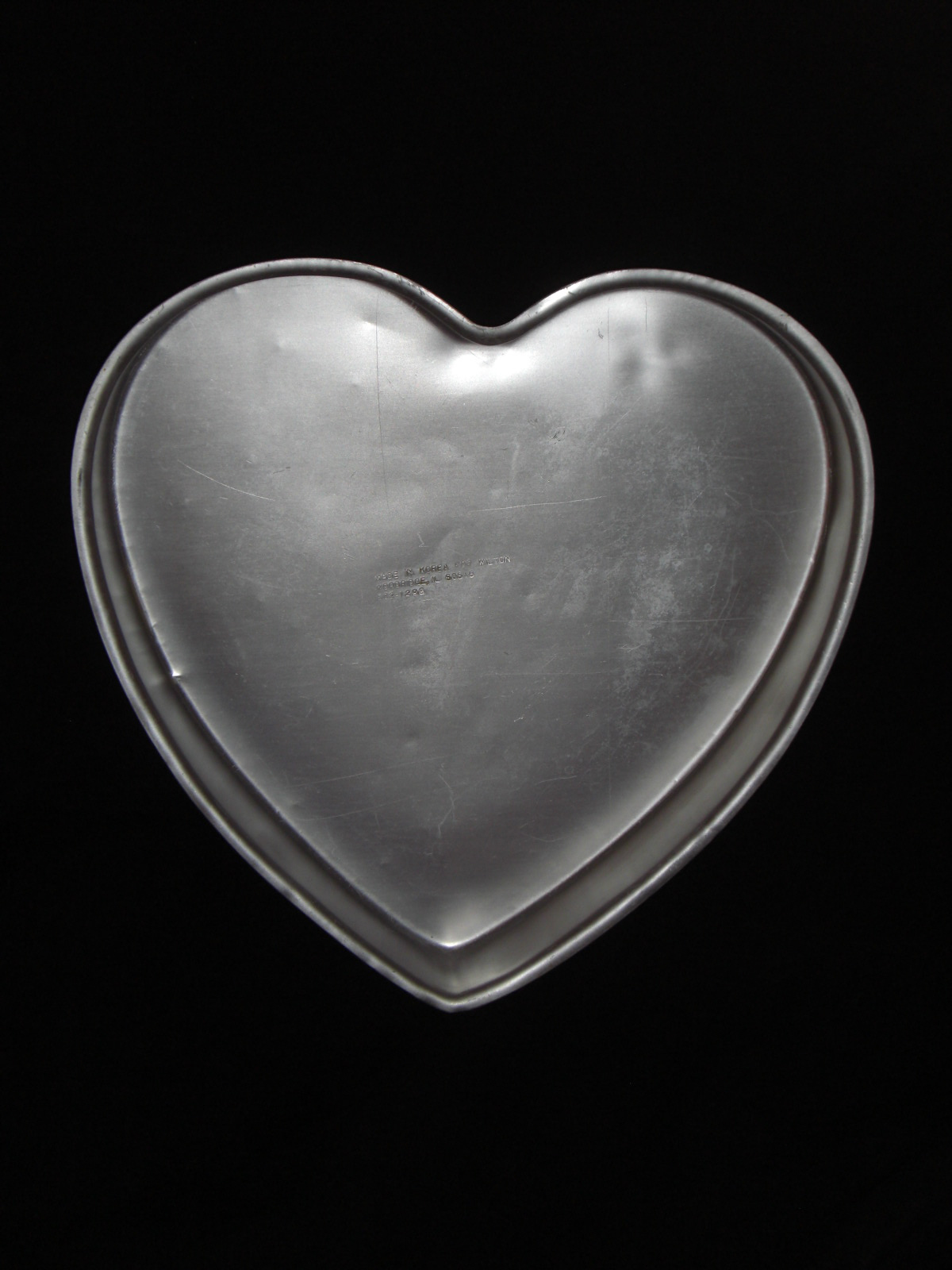 "Primary image for Wilton Cake Pan HEART large 12"" 502-1298 Preowned"