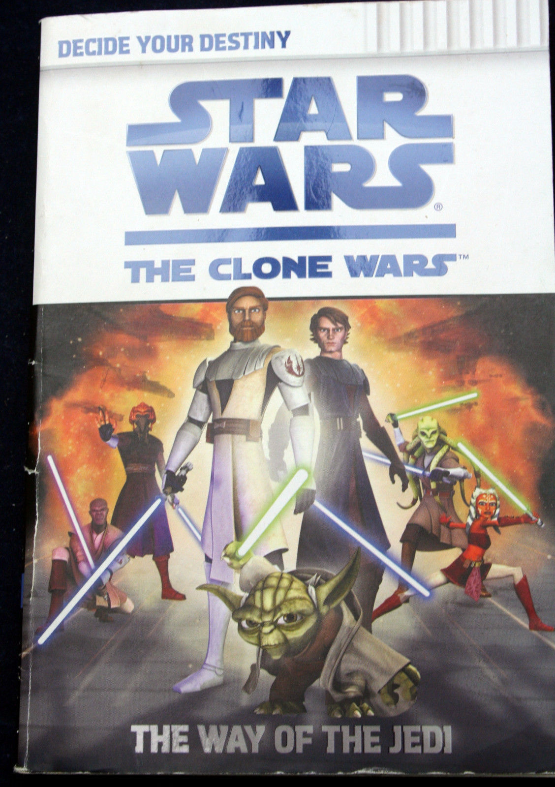 Primary image for Star Wars CLONE WARS WAY OF THE JEDI Decide Your Destiny interactive role-play
