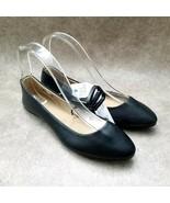 Time and Tru Womens   Sz 6 M Black  Slip On Ballet Flats - $24.99