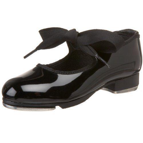 Capezio JR Tyette Tap Shoe N625C Size 7.5 WW