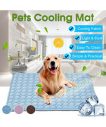 Pad Mat Dog Mat Cooling Summer For Dogs Cat Blanket Sofa Breathable Pet ... - $6.43+
