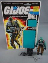 Vintage GI JOE Action Figure 1986 Beach Head 100% w Full Cardback - $26.61