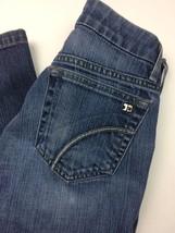 Joe's Jeans Womens Medium Wash Slight Boot Cut Stretch Jeans 24 X 28 - $27.99