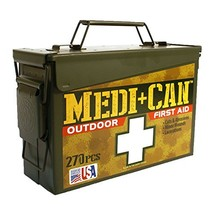 Be Smart Get Prepared 270Piece Medi+Can First Aid & Advance Wound Care Kit - $29.76