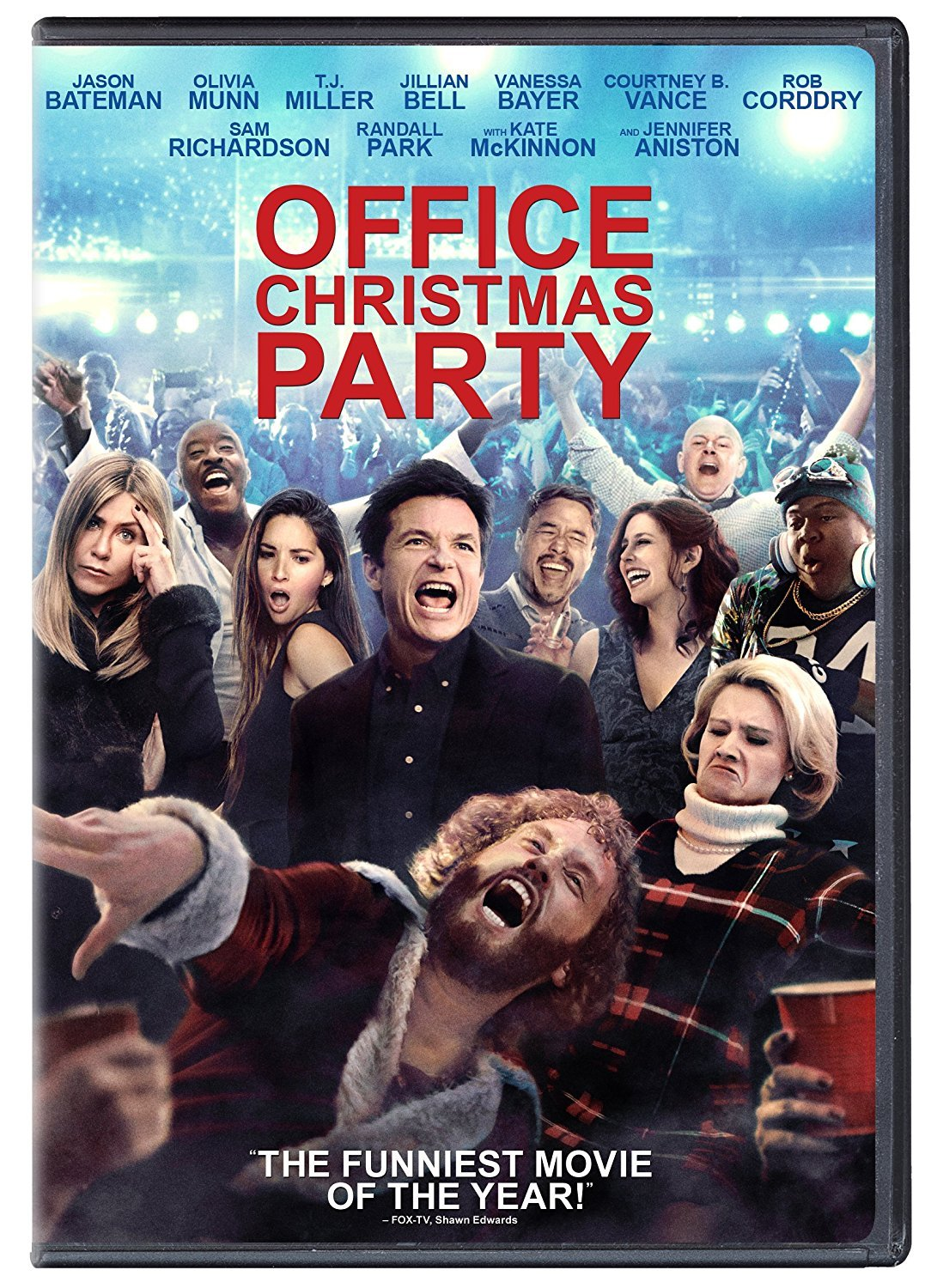 Office Christmas Party (2017, DVD)