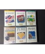 Hosanna Music Lot Of 6 Praise & Worship Christian Music Cassettes #5 - $20.00