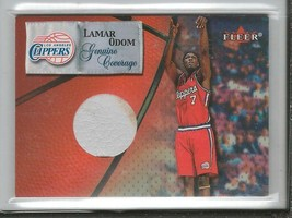 Lamar Odom 2000 Fleer Genuine Game Used Shoe Clippers - $46.63