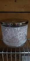 *New* CACTUS BLOSSOM ~ 3-Wick Candle ~ Bath & Body Works ~ FREE SHIP!  - $30.00