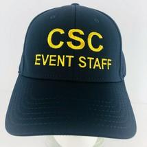CSC Blue Event Staff Hat Civil Service Commission FBI Baseball Cap Adjus... - $24.74