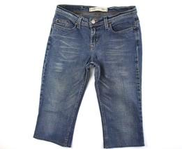 Express Women's Precision Fit Sarula Capris Jeans Size 4R - $19.95