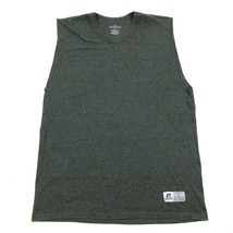 NEW Russell Athletic Mens Charcoal Gray Sleeveless Gym Shirt Size Large ... - $9.16