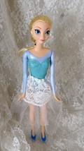 "Mattel 2013 Disney Frozen Doll Elsa #2144HF1 - 11 1/2"" doll - Handmade S... - $8.59"