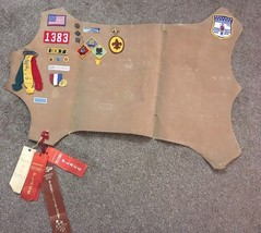 1970's Boy Scouts Patches, Pins, Ribbons And Service Metal - $39.99