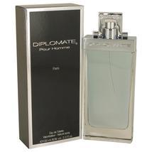 Diplomate Pour Homme by Paris Bleu Eau De Toilette Spray 3.3 oz - $26.60