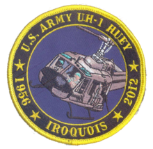 US Army UH-1 Huey Tribute Patch & Sticker - $19.79