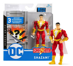 """DC Heroes Unite Shazam! 4"""" Action Figure with 3 Mystery Accessories Mint in Box - $17.88"""